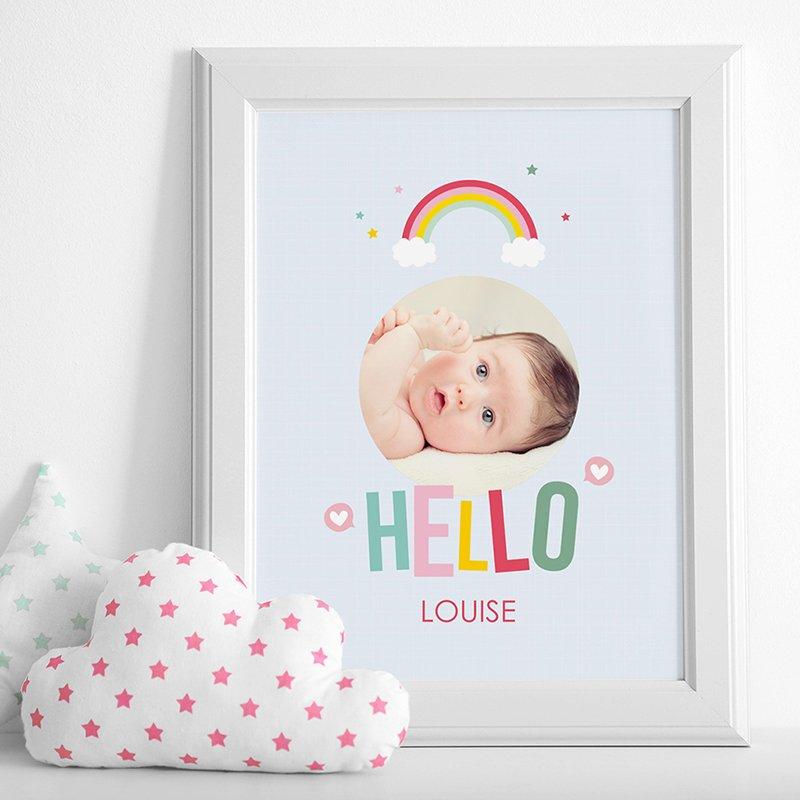 Affiche Déco Bébé Happiness