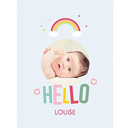 Affiche Déco Bébé Happiness pas cher