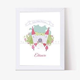 Affiche Déco Bébé Petite Princesse