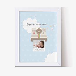 Affiche Déco Bébé Polaroid