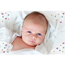 Faire-part de Naissance Famille Premier Enfant gratuit