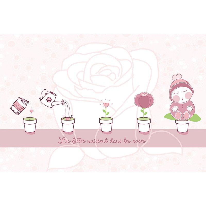 Faire-part de Naissance Chou-Fleur pas cher