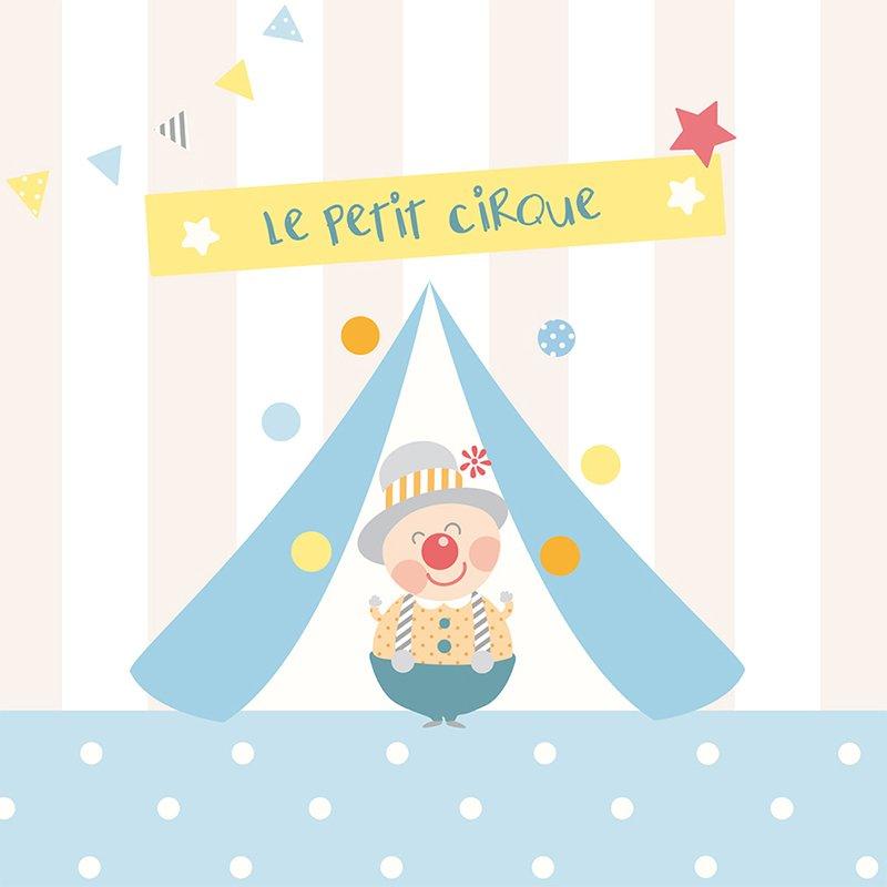 Faire-part de Naissance Le Petit Cirque pas cher