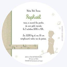 Faire-part de Naissance Le Petit Prince 11 gratuit
