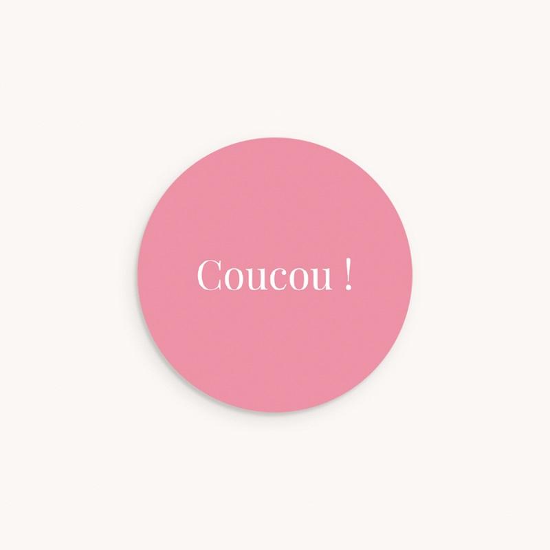 Sticker Enveloppe Naissance Ardoise Fille, Welcome