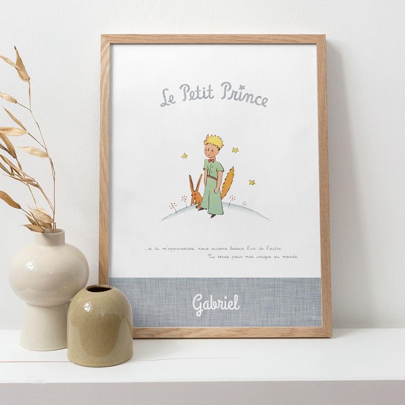 Affiche Déco Chambre Enfant Le Petit Prince 14 pas cher