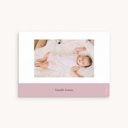 Carte de Remerciement Naissance Chou-Fleur pas cher