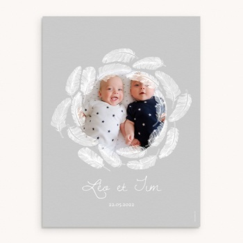 Affiche Déco Chambre Enfant Douce Plume original