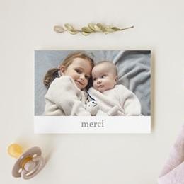 Carte de Remerciement Naissance Super-Héros Grande soeur gratuit