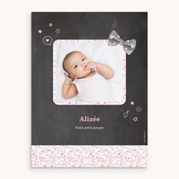 Affiche Déco Chambre Enfant Noeud fille