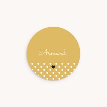 Sticker Enveloppe Naissance Hashtag, 4,5 cm original