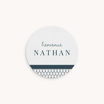 Sticker Enveloppe Naissance Marin chic