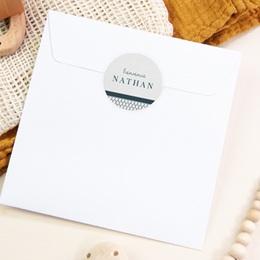 Sticker Enveloppe Naissance Marin chic pas cher