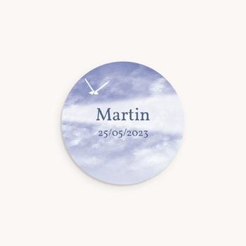 Sticker Enveloppe Naissance Pt'it Marin, Mouette