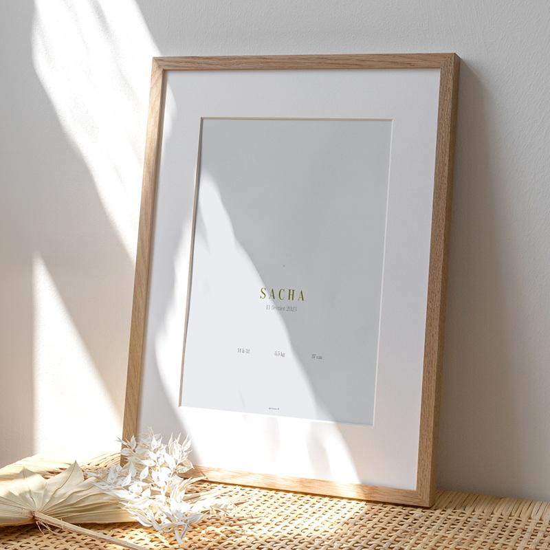 Affiche Déco Chambre Enfant Ourson des bois