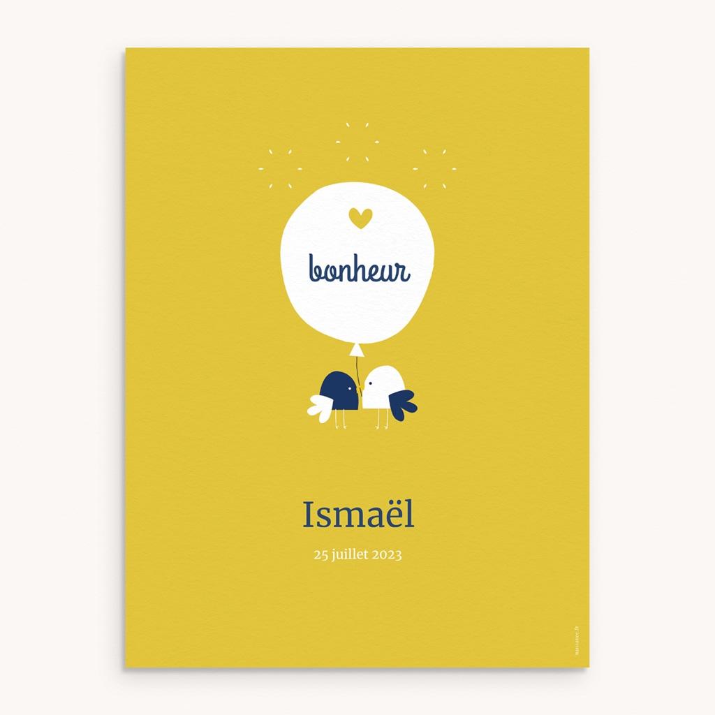 Affiche Déco Chambre Enfant Joyful