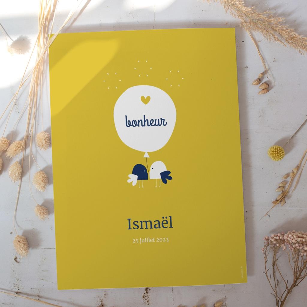 Affiche Déco Chambre Enfant Joyful gratuit