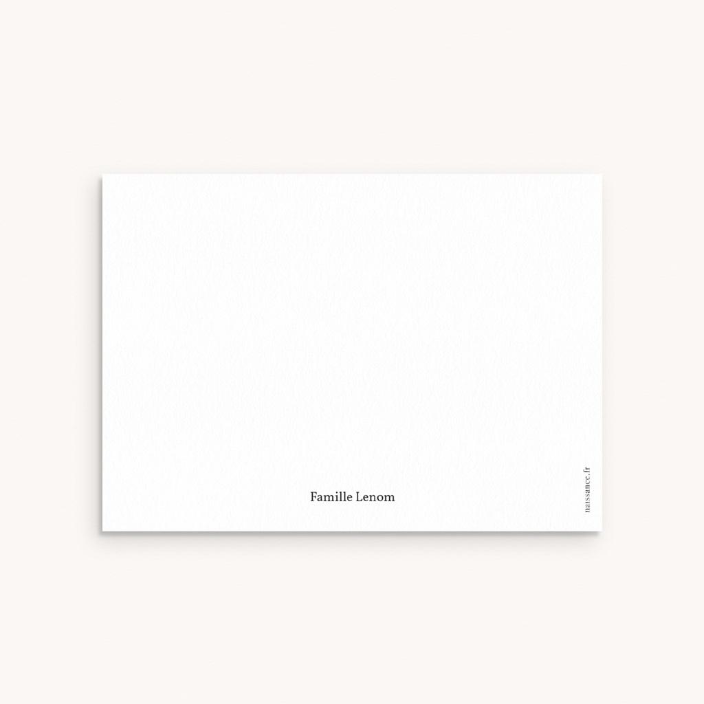 Carte de Remerciement Naissance Bohème Garçon pas cher