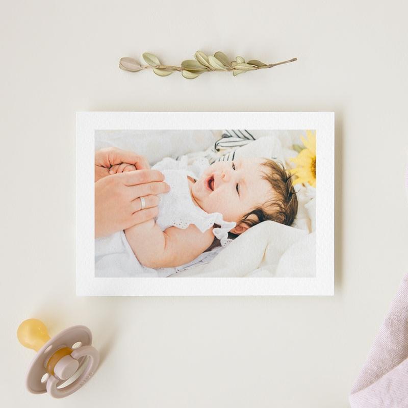Carte de Remerciement Naissance Petit Mot gourmand gratuit