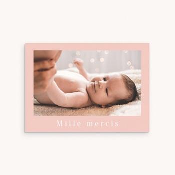 Carte de Remerciement Naissance Lily-Rose original