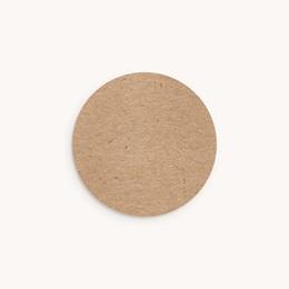 Sticker Enveloppe Naissance Kraft Portrait, Sticker 4,5 cm
