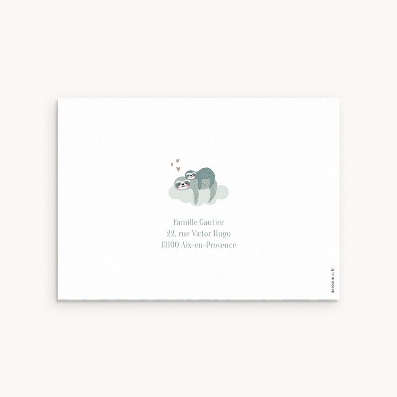 Carte de Remerciement Naissance Gros Dodo pas cher