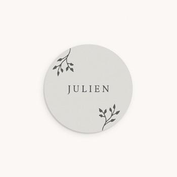 Sticker Enveloppe Naissance Sweet chic garçon, brin original