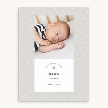 Affiche Déco Chambre Enfant Sweet chic garçon, brin, photo personnalisé