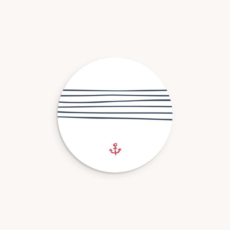 Sticker Enveloppe Naissance Petit mousse