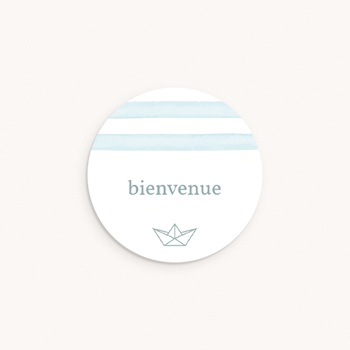 Sticker Enveloppe Naissance Petit Bateau