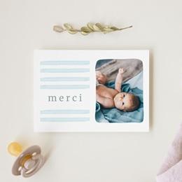 Carte de Remerciement Naissance Petit Bateau gratuit