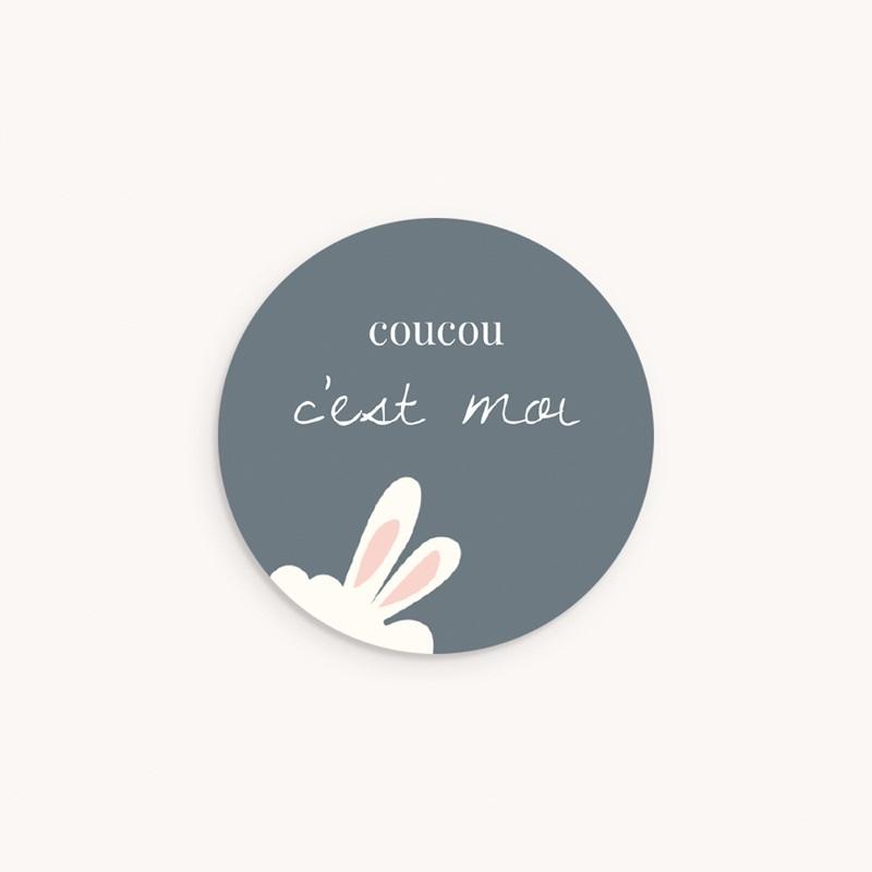 Sticker Enveloppe Naissance Lama Toudou, oreilles