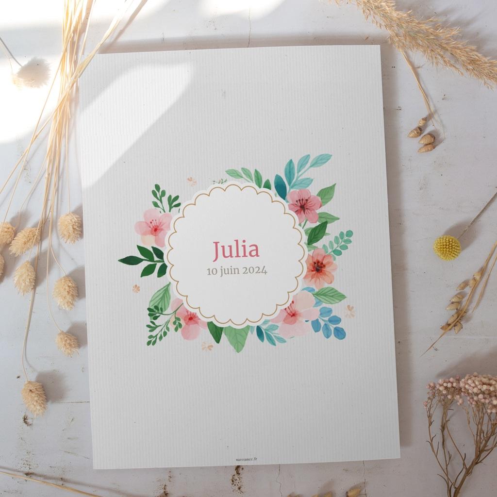 Affiche Déco Chambre Enfant Nature aquarelle gratuit