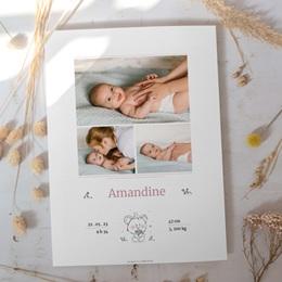 Affiche Déco Chambre Enfant Petit Ourson gratuit
