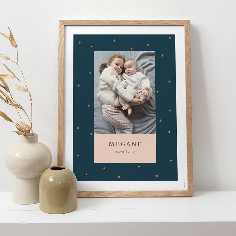 Affiche Déco Chambre Enfant Joli Rêve, photo pas cher