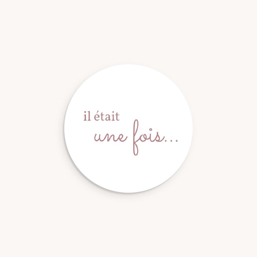 Sticker Enveloppe Naissance L'amour du Petit Prince, 4,5 cm