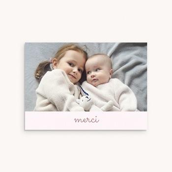 Carte de Remerciement Naissance L'Amour du Petit Prince