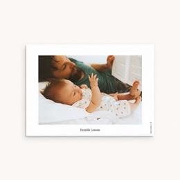 Carte de Remerciement Naissance Chouette famille pas cher