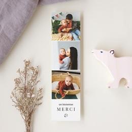 Carte de Remerciement Naissance Petit écureuil
