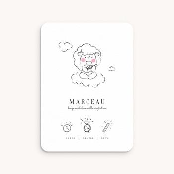 Faire-part de Naissance Petit mouton original