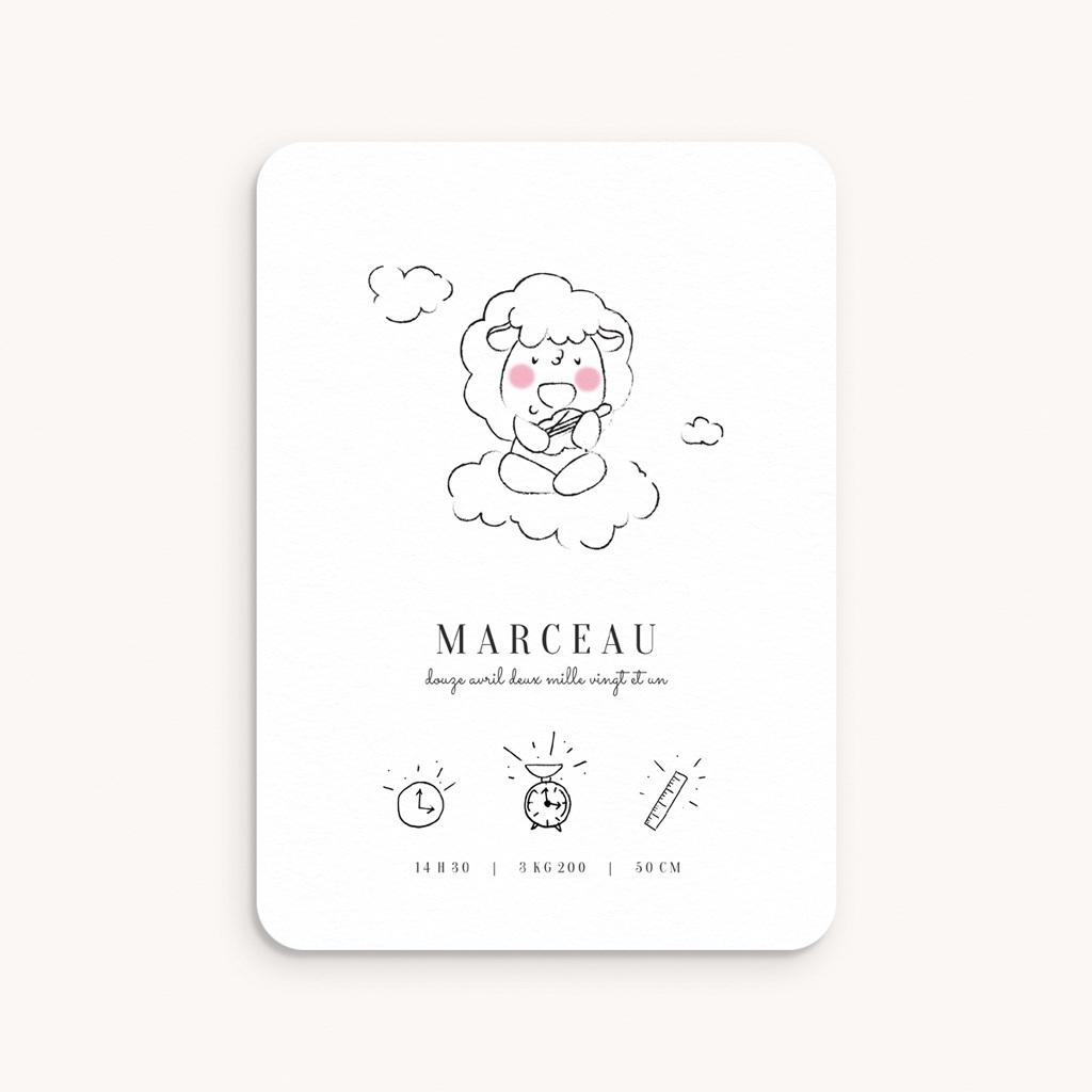 Faire-part de Naissance Petit mouton