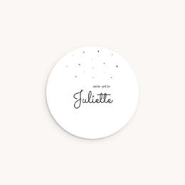 Sticker Enveloppe Naissance Petit lapin