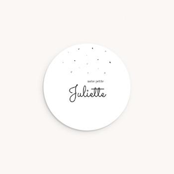 Sticker Enveloppe Naissance Petit lapin personnalisé