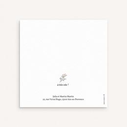 Faire-part de Naissance Lettres d'amour, printemps