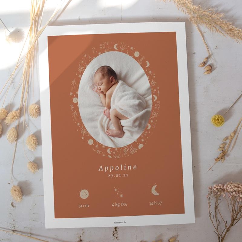 Affiche Déco Chambre Enfant Ode à la nature, portrait gratuit
