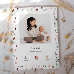 Affiche Déco Chambre Enfant Coccinelles, cerises & trèfle gratuit
