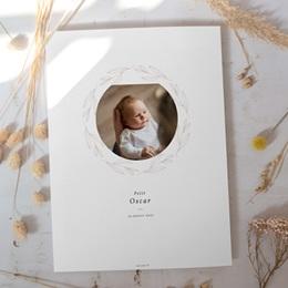 Affiche Déco Chambre Enfant Couronne Monochrome Blanc, Photo gratuit