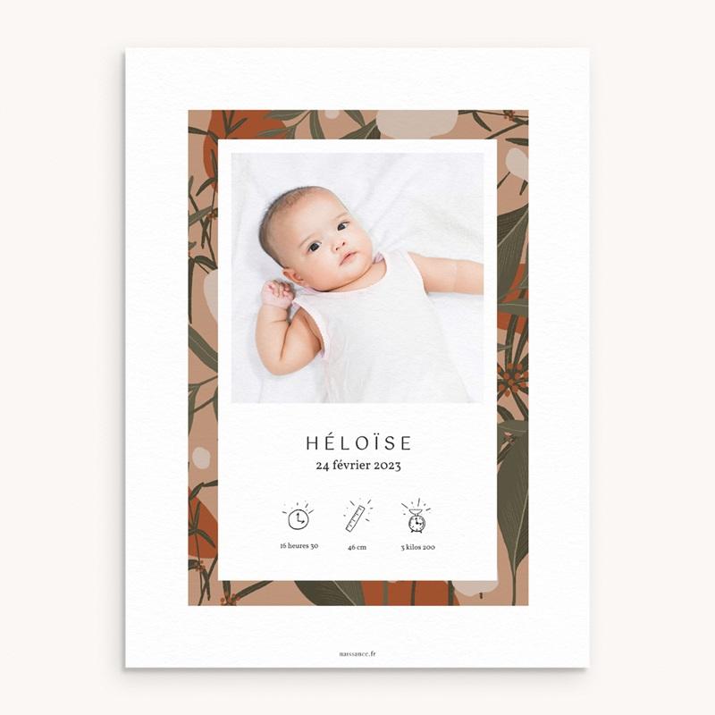 Affiche Déco Chambre Enfant Tendresse Tropicale, 2 photos