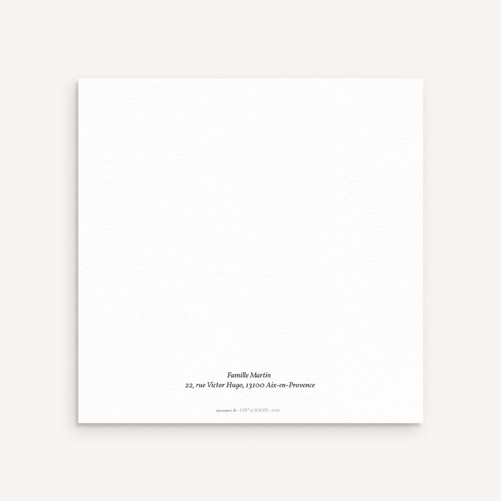 Faire-part de Naissance Renard & Petit Prince