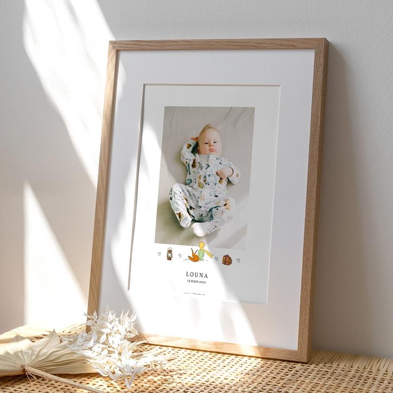 Affiche Déco Chambre Enfant Voyage Petit Prince & Renard